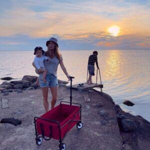 małgorzata rozenek, kamper, szwecja
