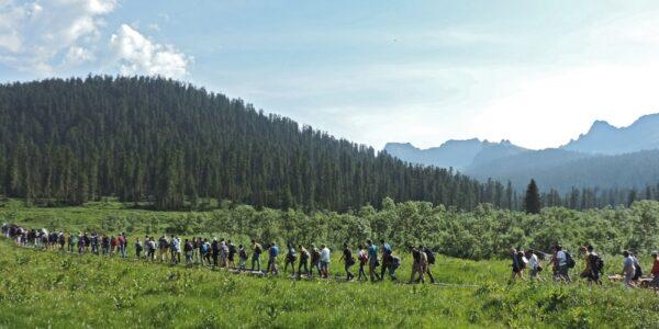 Park Przyrody Ergaki syberia